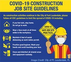 Covid-19 Pandemic Drives Significant Changes at Many Construction Sites Across The U.S. Thumb